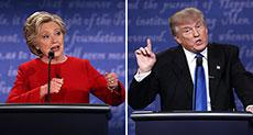 US 2016 Presidential Election: Trump, Clinton Clash in First Debate, Clinton Wins