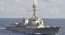 US Military: One of Our Destroyers Comes under Attack in Yemen