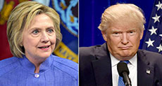 US 2016 Presidential Election: Poll Shows Clinton Leading Trump by 7%