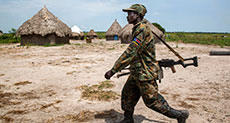 56 Rebels Killed in S Sudan Weekend Fighting