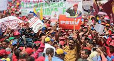 Rallies in Venezuela Support Maduro's Budget Plan