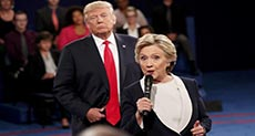 US 2016 Presidential Elections: Clinton Accuses Trump of Threatening US Democracy