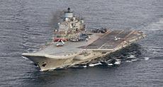 Russian War Fleet Reaches Mediterranean Sea