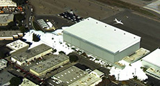 Foam Engulfs California Airport Hangar!