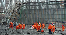 China Power Plant Collapse Toll Hits 74