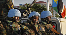 S Sudan Agrees on Peacekeeping Force Deployment
