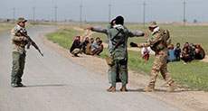 Suiciders Attack Iraqi Samarra