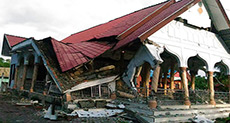 Dozens of Buildings Collapse After 6.5 Quake in Indonesia