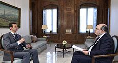 Al-Assad: Aleppo Win Huge Step toward Ending War