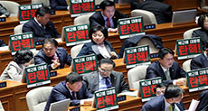 S Korea Lawmakers Pass Impeachment Motion against Park