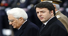 Mattarella Starts Talks over Italy's New Government