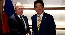 Putin Meets Japan's Abe to Talk Peace Treaty, Closer Ties