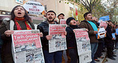 HRW: Turkey Silencing Independent Media