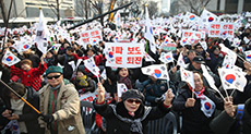 S. Korea Protests Switch Focus to Impeachment Court