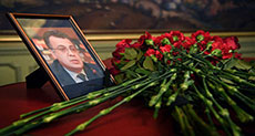 Kremlin: Too Early to Say Who Was Behind Envoy's Murder