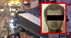 Photo of Alleged Berlin Attack Suspect Published in German Media