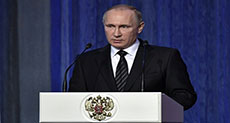 Putin Urges Strengthening Russia's Military Nuclear Potential