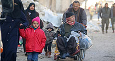 ICRC: 30,000 People Evacuated in East Aleppo