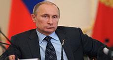 Putin: Sanctions Harming Fight Against Terrorism