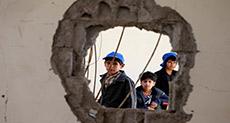 Saudi Airstrike at Yemeni School Martyrs Five