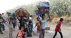 Thousand Flee Fighting, Violence in North Myanmar