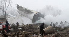37 Killed As Cargo Plane Crashes in Kyrgyzstan