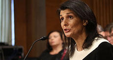 Trump's UN Pick Supports 'Israel', Hardline on Russia