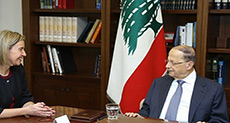 Mogherini Echoes EU's Unwavering Support for Lebanon