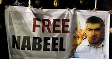 Nabeel Rajab Faces Prison for Saying Journalists are Banned from Bahrain