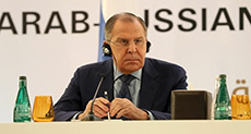 Lavrov Calls for Syria's Return to Arab League