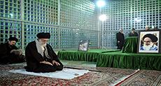 Imam Khamenei Pays Tribute to Late Imam Khomeini