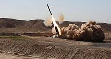 Yemeni Ballistic Missile Strikes Saudi Capital