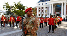 S African Opposition Seeks Court Order to Bar Military from Parliament
