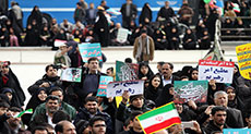 Iranians Commemorate Revolution's 38th Anniversary [Photos]