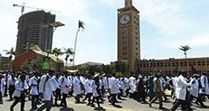 Kenya Court Jails Doctors' Union Officials over Strike