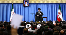 Imam Khamenei Praises High Turnout in Rallies Marking Revolution's Anniv.