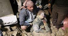New Saudi Massacre Martyrs 9 in Sana'a Funeral