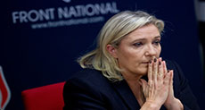 French Elections: Police Raid Le Pen's Party Offices in Fraud Probe