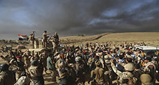 Battle for Mosul: Iraqi Troops Advance on Western Front