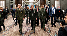 US, Russian, Turkish Military Chiefs Meet in Antalya over Syria, Iraq