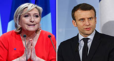 French Elections: Le Pen to Beat Macron in 1st Round