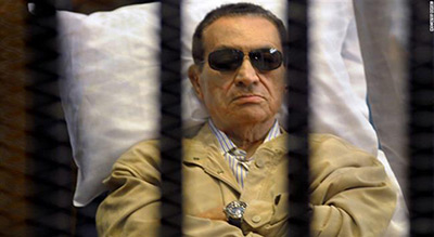 For the First Time in 6 Years: Mubarak Walks Free