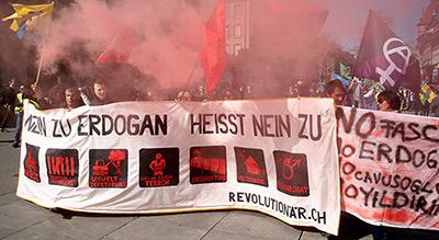 Turkey Summons Swiss Ambassador over Anti-Erdogan Rally