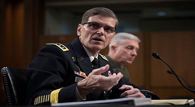 Top US General Urges Military Action against Iran
