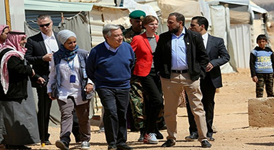 UNSG Guterres in Iraq to Review Aid Efforts