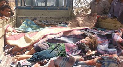 10 Women, Children Martyred as Saudi Commits New Massacre in Yemen's Saada