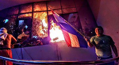 Protesters Set Paraguay Congress Ablaze, Clashes Leave 30 Injured