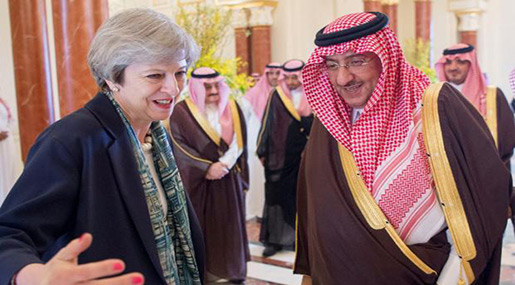 The Independent: May Angry, Standing Up for Values in Saudi Arabia