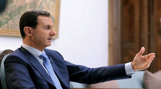 Al-Assad Sees No 'Option except Victory' In Syria