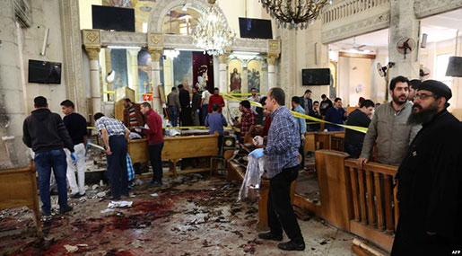 State of Emergency Declared after Egypt Church Bombings